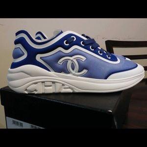 Channel sneakers